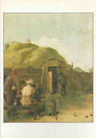 Adriaen Brouwer - Zecher In Einem Hof - Paintings
