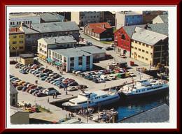 ★★ HAMMERFEST. FEREGR Og BILER ★★ FERYBOATS & CARS. HAMMERFEST.  Finnmark NORWAY ★★ - Norway