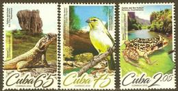 CUBA 2019 FAUNA Animals - Fine Set MNH - Unused Stamps