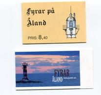 """Aland - Markenheftchen Nr. 1 Und Nr. 16 - """"Leuchttürme"""" ** / MNH (aus Den Jahren 1992 / 2008) - Ålandinseln"""