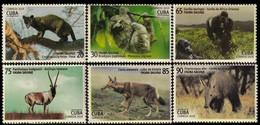 CUBA 2019 FAUNA Endangered Animals - Fine Set MNH - Unused Stamps