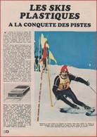 Les Skis Plastiques à La Conquête Des Pistes. Fin Des Skis En Bois. Rossignol. Sport. 1969. - Historical Documents