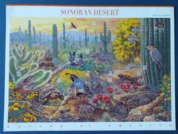 USA, Bloc 10 Timbres Neufs  Sonoran Desert, 1999 - Ungebraucht