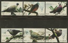 CUBA 2020 FAUNA Animals. Birds PIGEONS - Fine Set MNH - Unused Stamps