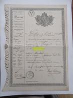 PASSEPORT FRANCAIS  1829 - Historical Documents