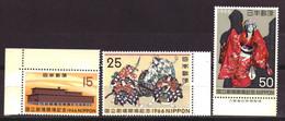 Japan / Japon / Nippon 955 T/m 957 MNH ** (1966) - Unused Stamps
