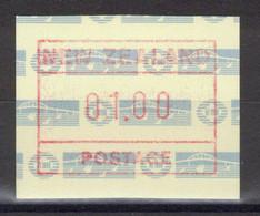Nouvelle-Zélande - Timbre De Distributeurs - YT 4 ** MNH - 1990 - Unused Stamps