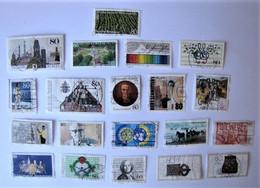 ALLEMAGNE - REPUBLIQUE FEDERALE - Lot De Timbres De 1987 - Used Stamps