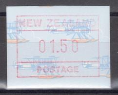 """Nouvelle-Zélande - Timbre De Distributeurs - Modèle """"hydravion"""" - 1.50 D. ** MNH - 1990 - Unused Stamps"""