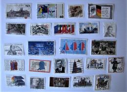 ALLEMAGNE - REPUBLIQUE FEDERALE - Lot De Timbres De 1989 - Used Stamps