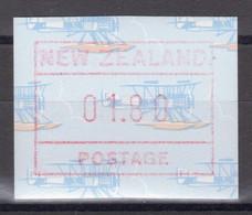 """Nouvelle-Zélande - Timbre De Distributeurs - Modèle """"hydravion"""" - 1.80 D. ** MNH - 1990 - Unused Stamps"""