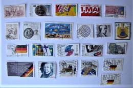 ALLEMAGNE - REPUBLIQUE FEDERALE - Lot De Timbres De 1990 - Used Stamps