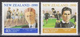Nouvelle-Zélande - YT 1076-1077 ** MNH - 1990 - Unused Stamps