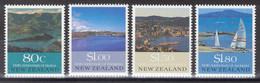 Nouvelle-Zélande - YT 1072-1075 ** MNH - 1990 - Vues Panoramiques De Villes - Unused Stamps