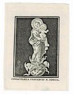 ANTWERPEN - Maria BRONDEELS - Wwe J. STALPAERTS  +1845  - (Kopergravure) - Devotion Images
