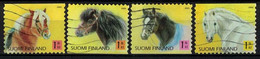 2005 Finland, Pony Horses, Complete Used Set. - Used Stamps