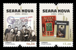 Portugal 2021 Mih. 4776/77 Seara Nova Magazine MNH ** - Unused Stamps