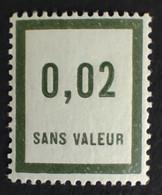 France RARE Fictif N° F24 N** Luxe Gomme D'origine, TTB. Cote 2021 : 37,00 €. Voir Photos Recto Verso ! - Phantom