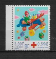 """FRANCE N° 3362 """" CROIX ROUGE """" - Unused Stamps"""