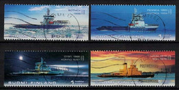 2005 Finland, Icebreakers Complete Set Used. - Used Stamps