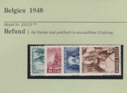 Belgien-Briefmarken  Postfrisch * * 1948 - Unused Stamps