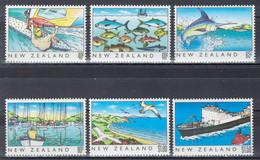 Nouvelle-Zélande - YT 1045-1050 ** MNH - 1989 - La Mer - Unused Stamps