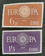 IRLANDE    Europa 1960   N° Y&T  146 Et 147  ** - Unused Stamps