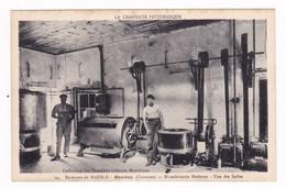 Rare CPSM Années 1930 Baudau, Près Mausle (Mansle ?), Charente, Blanchisserie Moderne - Altri Comuni
