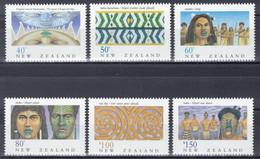 Nouvelle-Zélande - YT 1078-1083 ** MNH - 1990 - Héritage Néo-zélandais - Les Maoris - Unused Stamps