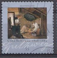Bund  2008  Mi.nr.: 2648  Geburtstag Von Carl Spitzweg   Gestempelt / Oblitérés / Used - Used Stamps