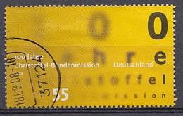 Bund  2008  Mi.nr.: 2664  100.Jahre Christoffel Blindenmission   Gestempelt / Oblitérés / Used - Used Stamps