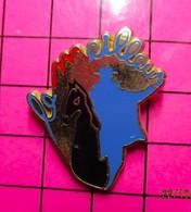 513H Pin's Pins / Beau Et Rare / THEME : MARQUES / LE MEILLEUR CAVALIER CHEVAL Doré à L'or Fin Série Limitée BALLARD - Trademarks