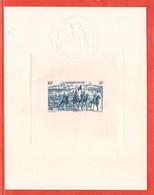 MADAGASCAR EPREUVE DE LUXE PA N°66 TCHAD AU RHIN - Other