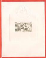 MADAGASCAR EPREUVE DE LUXE PA N°68 TCHAD AU RHIN - Other