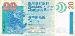 K40 - HONG-KONG - Billet De 20 DOLLARS - Hongkong