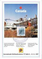 Kanada / Canada - Spezialbeleg / Special Document (h432) - Invierno 1988: Calgary