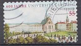 Bund  2009  Mi.nr.: 2747  Universität Leipzig   Gestempelt / Oblitérés / Used - Used Stamps