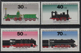 Berlin, Allemagne : N° 452 à 455 Xx Neuf Sans Trace De Charnière Année 1975 - Ungebraucht