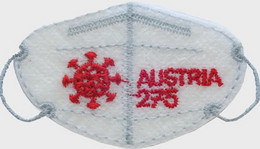 AUSTRIA, 2021, MNH, COVID, MASK, 1v , EMBROIDERED STAMP - Other