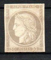 Col24 Colonies Générales  N° 20 Neuf (X) No Gum  Cote 165,00 Euro - Cérès