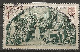 YT N° 355 - Oblitéré - Sainte DEVOTE - Gebruikt