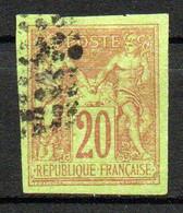 Col24 Colonies Générales  N° 42 Oblitéré  Cote 22,00 Euro - Sage