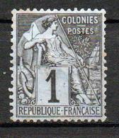 Col24 Colonies Générales  N° 46 Oblitéré  Cote 6,00 Euro - Alphée Dubois