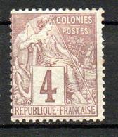 Col24 Colonies Générales  N° 48 Oblitéré  Cote 7,00 Euro - Alphée Dubois