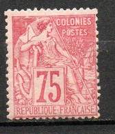 Col24 Colonies Générales  N° 58 Neuf X MH Cote 155,00 Euro - Alphée Dubois