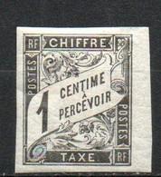 Col24 Colonies Générales Taxe N° 1 Neuf X MH Cote 5,00 Euro - Portomarken