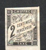 Col24 Colonies Générales Taxe N° 2 Oblitéré Cote 5,00 Euro - Portomarken