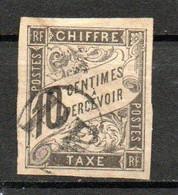 Col24 Colonies Générales Taxe N° 6 Oblitéré Cote 8,00 Euro - Portomarken