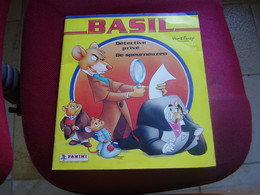 Album Chromos Images Vignettes Panini  *** Basil Détective *** - Sammelbilderalben & Katalogue