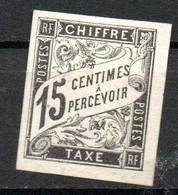 Col24 Colonies Générales Taxe N° 7 Oblitéré Cote 13,00 Euro - Portomarken
